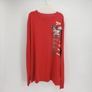 American Eagle Outfitters | Long Sleeve Tee | Red